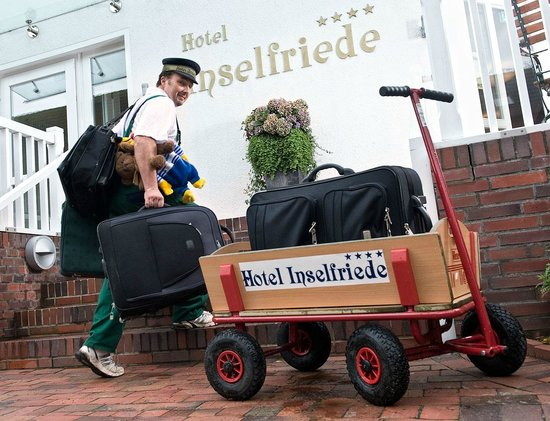 Inselfriede: Hotel