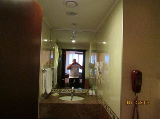 Topkapi Inter Istanbul Hotel : Single non smoking