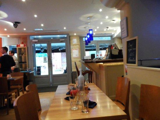 Bistro Burger Montorgueil : Salle principale