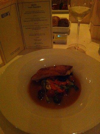 Rossini's: Главное блюдо классического сет-меню