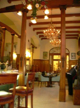 Hotel Paris Prague : The Cafe / Bar