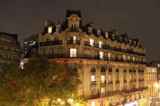 Hotel Tolbiac : Vistas desde la habitación