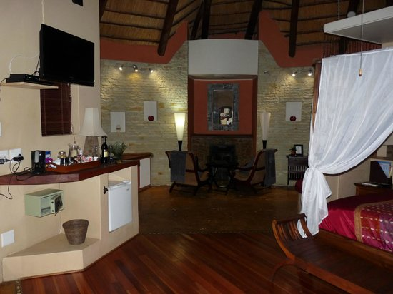 Maliba Mountain Lodge: la chambre
