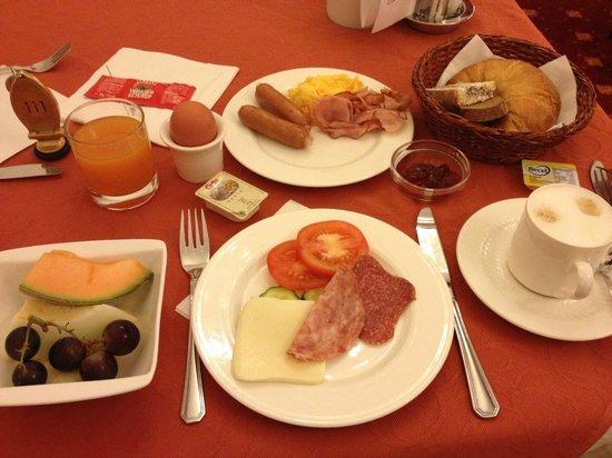 Hotel Austria: 朝食