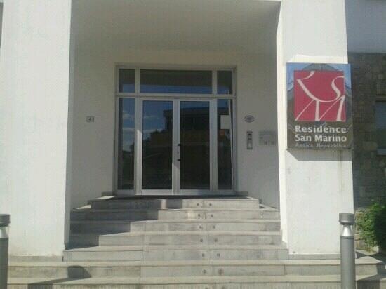 Residence San Marino: entrata