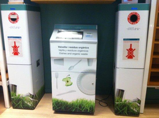 Fastvinic: Punto de reciclaje