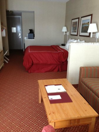 Comfort Suites Chincoteague : sleeping area