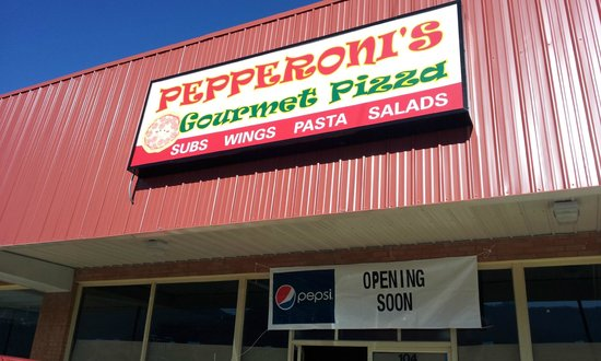 Pepperoni's Gourmet Pizza - Black Mountain: Fron of our store
