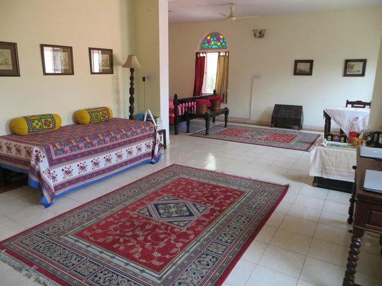 Our spacious room at Jaipur Heritage Home
