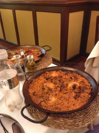 RESTAURANTE AMAYA: This is 1 portion of Paella, which 2 can definitely share!