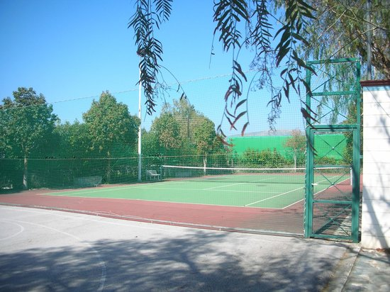 Érétrie, Grèce : Tenis court