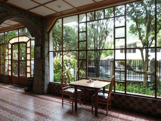 Hostal Isla de Banos : Cafetería area