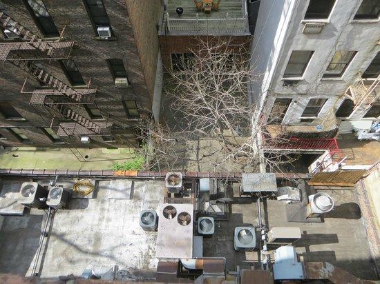 พอด51: Vista desde nustra ventana, hacia abajo