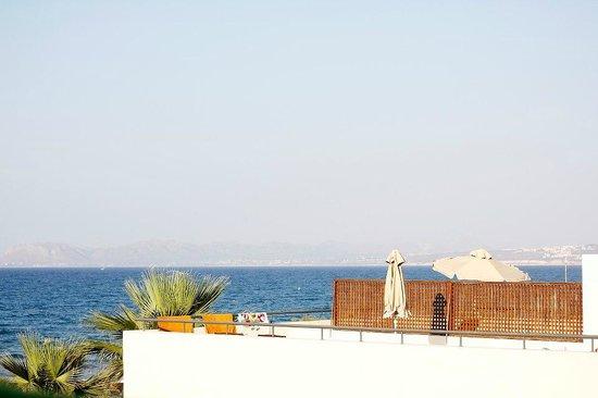 โรงแรมซานตามารินาพลาซา: Fin utsikt