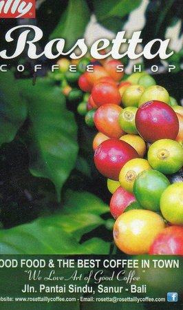 Rosetta Coffee Shop Carte De Visite