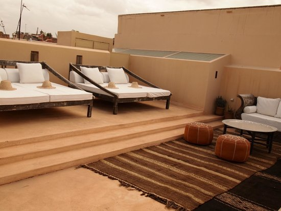 Riad Snan13: Terrasse