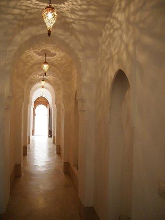 Riad Snan13: Couloir d'entrée