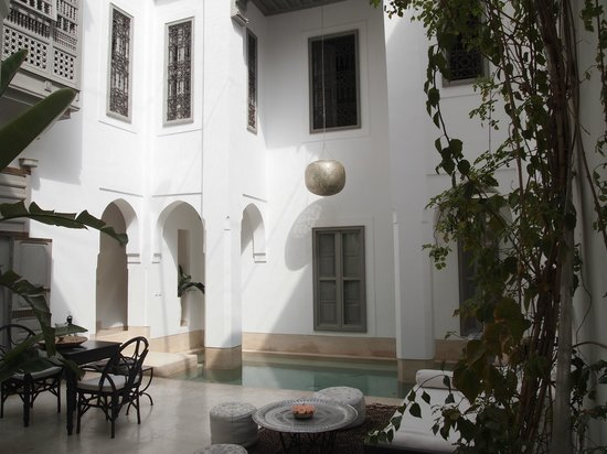 Riad Snan13: Le patio