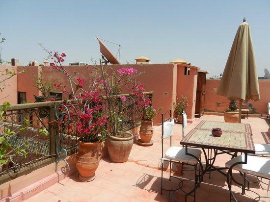 Riad Alisma: terrasse
