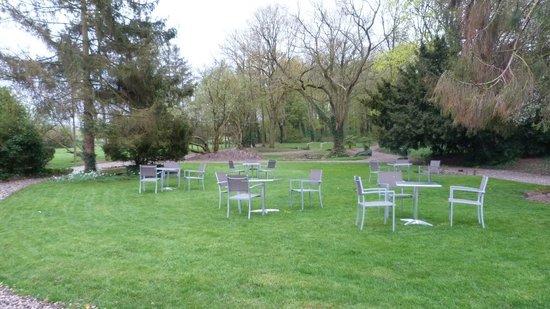 Le Manoir de Gavrelle : Le parc