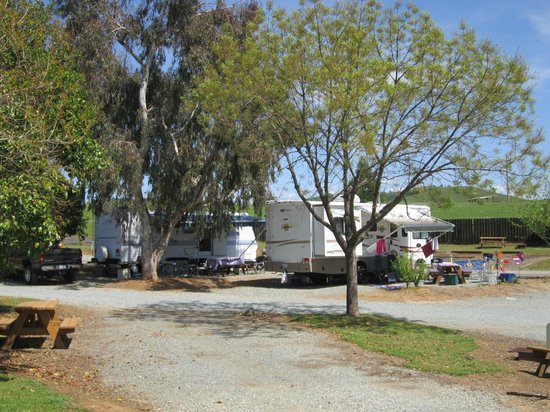 Angels Camp RV and Camping Resort: Space 41 and 42 for Trailer or RV