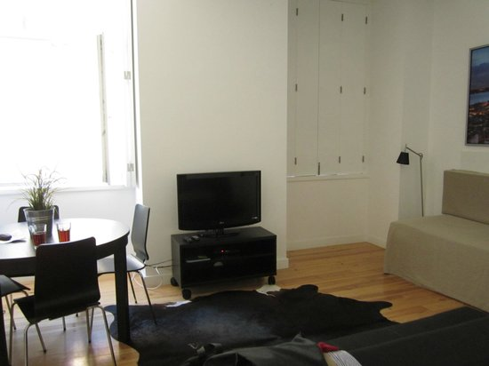 Lisbon Serviced Apartments - Praca do Municipio: séjour