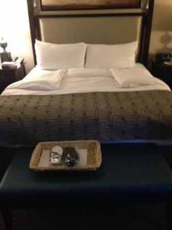 The Fairmont Palliser: turn down service and slippers