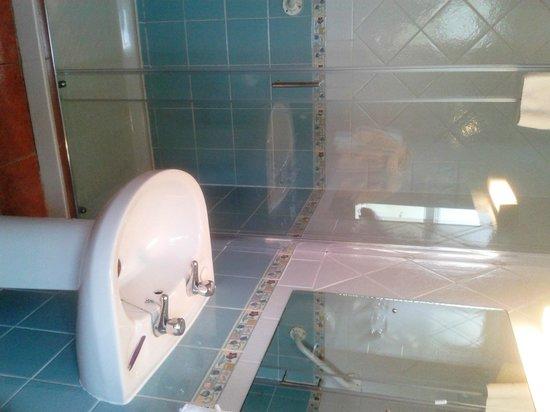 Barr Na Sraide Inn: Particolare - doccia
