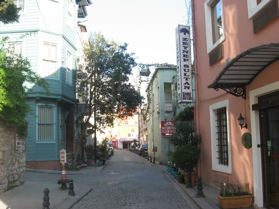Zeynep Sultan Hotel: Frente del hotel
