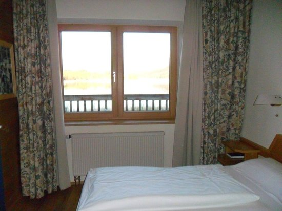 Appartement  Hotel Seespitz: Camera matrimoniale con vista lago