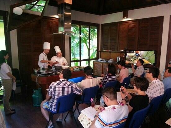 Blue Elephant Cooking School: Chef Charles and Chef Tony
