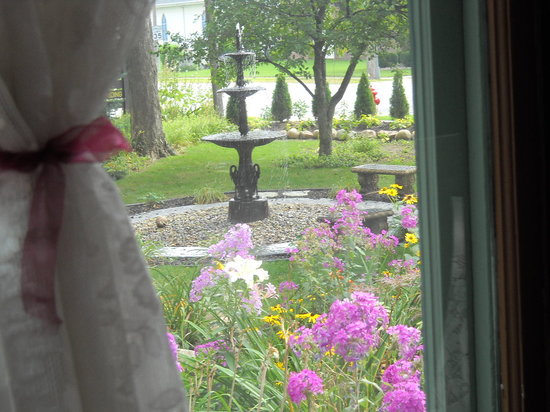 Murphy Guest House Bed and Breakfast: looking out of the dining room window