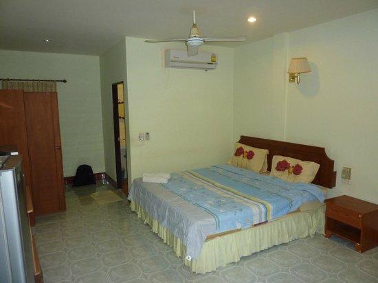 Kasemsuk Guesthouse: comfy bed