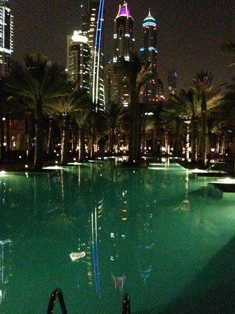 Arabian Court at One&Only Royal Mirage Dubai: piscina Palace