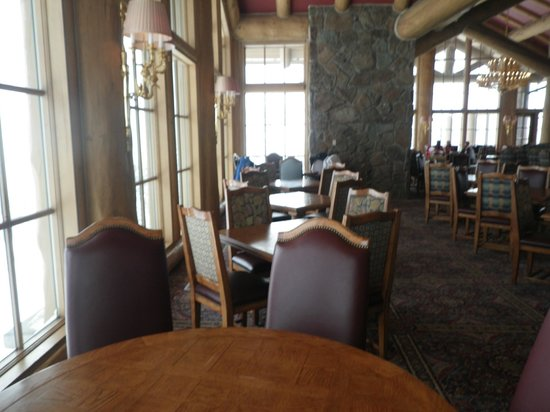 Snowbasin Resort: Inside the Needle Lodge at the top of the mountain
