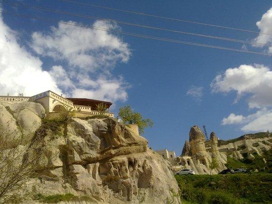 SOS Cave Hotel: fantastica posizione dell' hotel