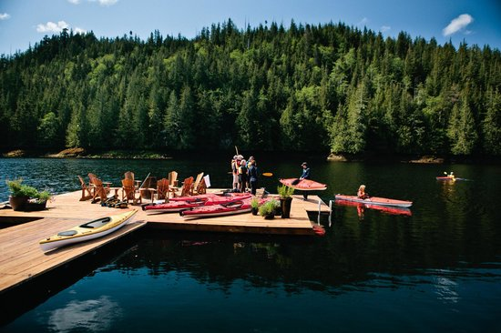 Nimmo Bay Wilderness Resort : Discover all that natural BC has to offer from the sea