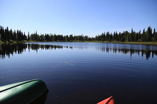 Gate Creek Cabins: Gate Lake