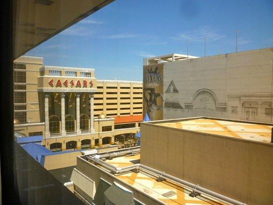 Caesars Atlantic City: View from room