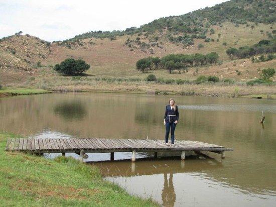 Kloofzicht Lodge & Spa: Lower dam