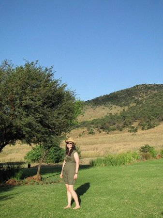 Kloofzicht Lodge & Spa: By the pool at room 49