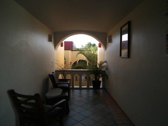 Hotel Casa Conzatti: verso blocco interno