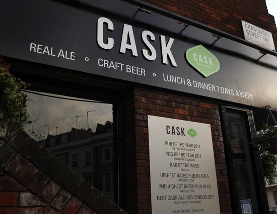 The Cask Pub & Kitchen: the view from outside
