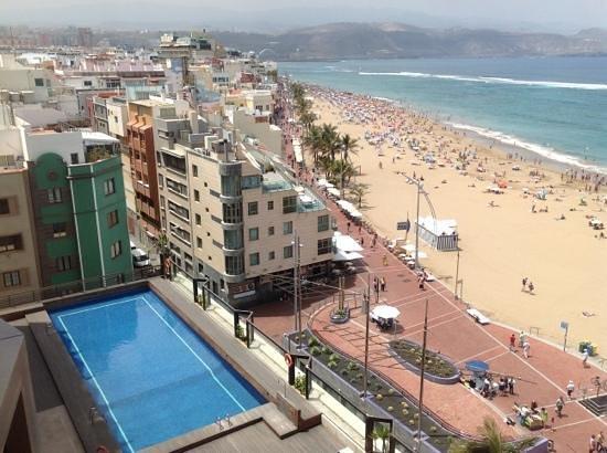 Vista Mar Picture Of Sercotel Cristina Las Palmas Las Palmas De
