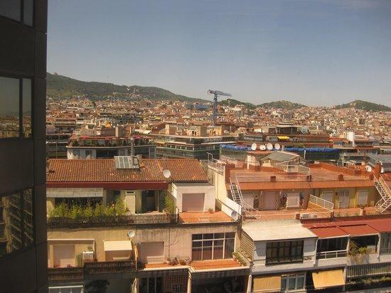 Melia Barcelona Sarria: vue depuis la chambre