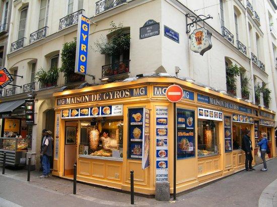 Maison De Gyros Paris Sorbonne Restaurant Reviews