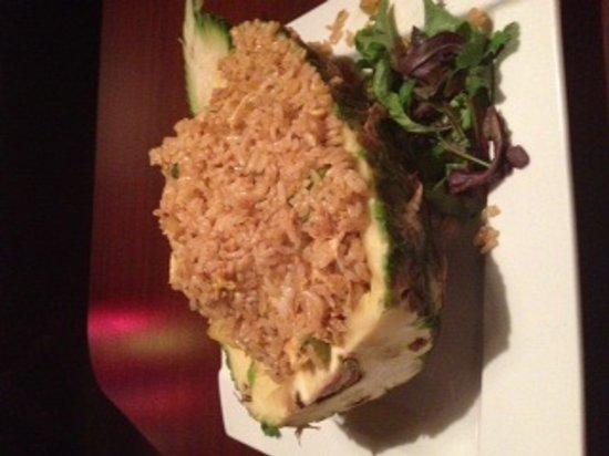 Fuji Japanese Seafood & Steakhouse: Thai style Pineapple Fried Rice