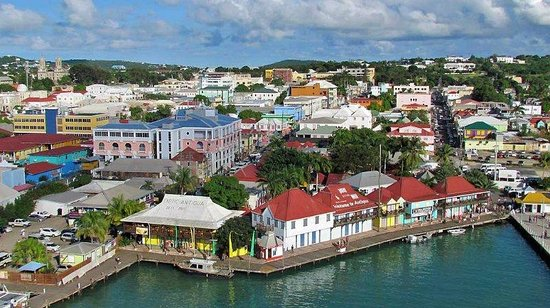 St. John's, Antigua: Capital port