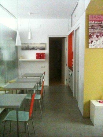 Casameva: sala per colazione