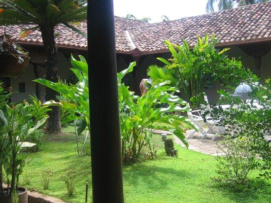 Hotel El Almirante: hier wird das Frühstück serviert